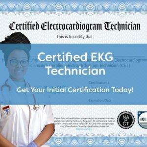 ASET EKG Initial Certification