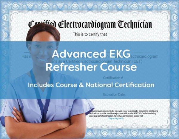 ASET Advanced EKG Refresher Course