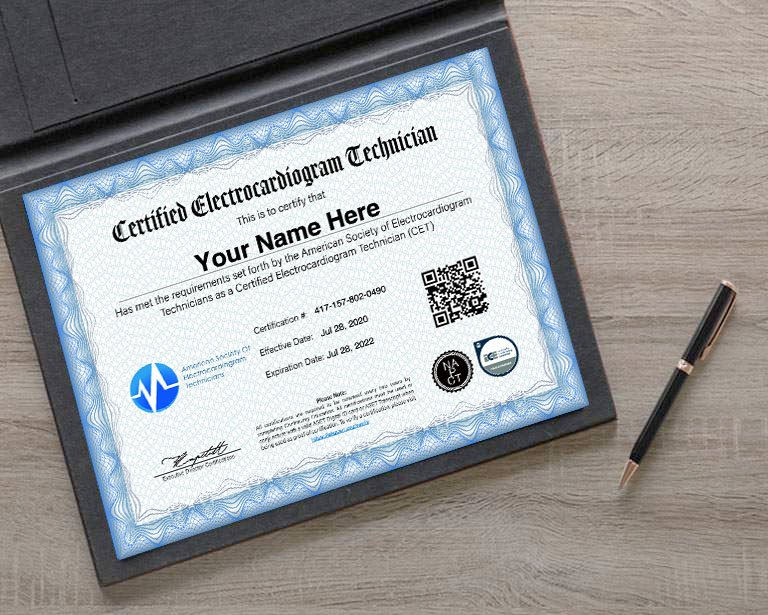 Certification Ekg Credentials